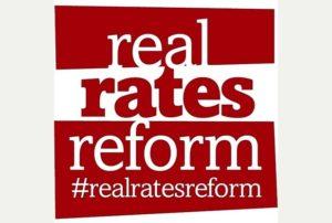 Bristol Post's #RealRatesReform campaign Credit: Bristol Post